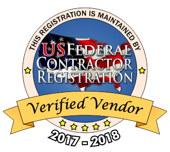 Verified Vendor - US Federal Contractor Registration